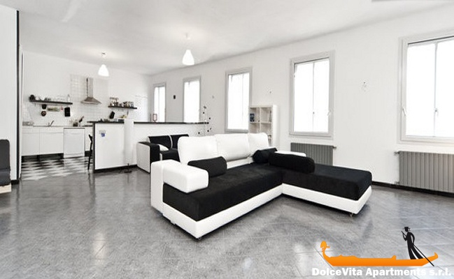 Apartment in venice design for 6 people for Design apartment venice