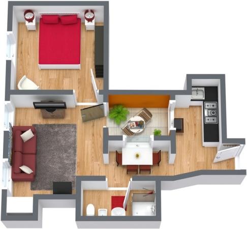 Planimetrics Apartment N.103