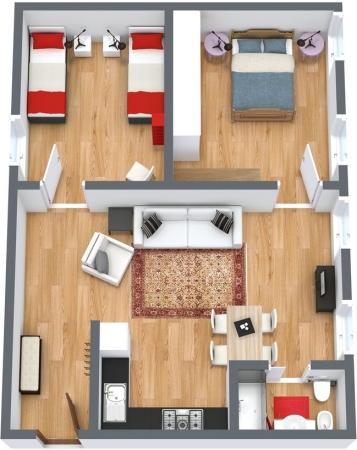 Planimetrics Apartment N.112