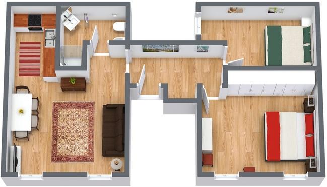 Planimetrics Apartment N.113
