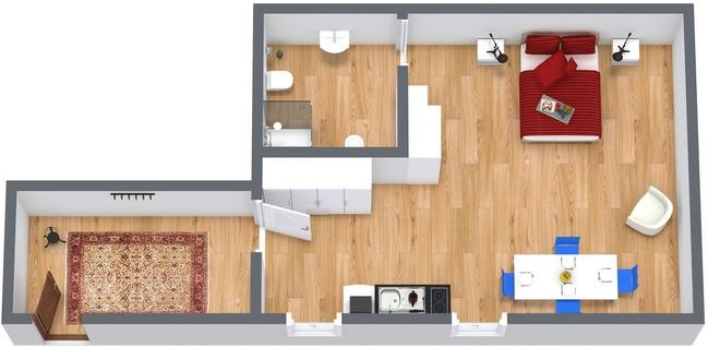 Planimetrics Apartment N.117