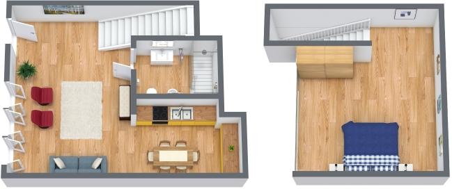 Planimetrics Apartment N.122