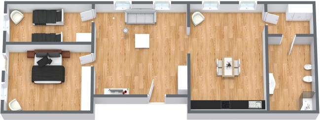 Planimetrics Apartment N.127