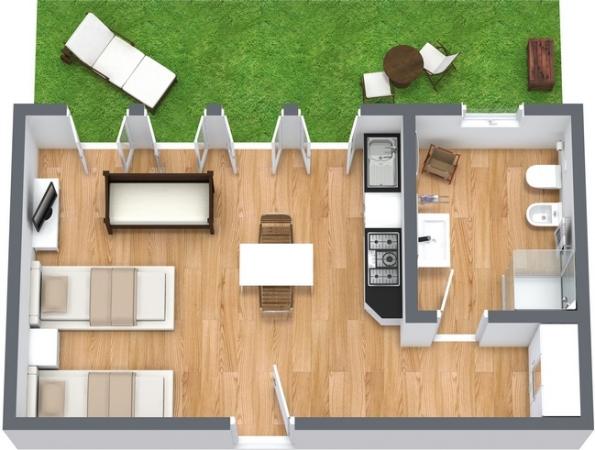 Planimetrics Apartment N.76