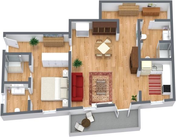 Planimetrics Apartment N.130
