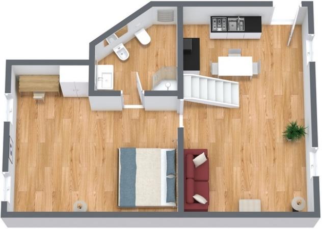 Planimetrics Apartment N.133