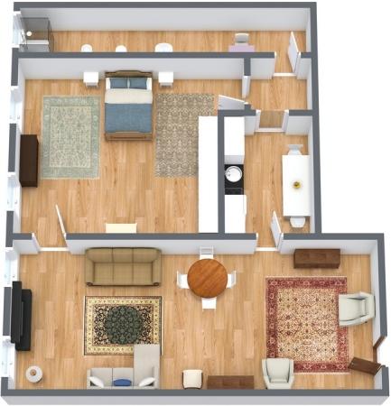Planimetrics Apartment N.135