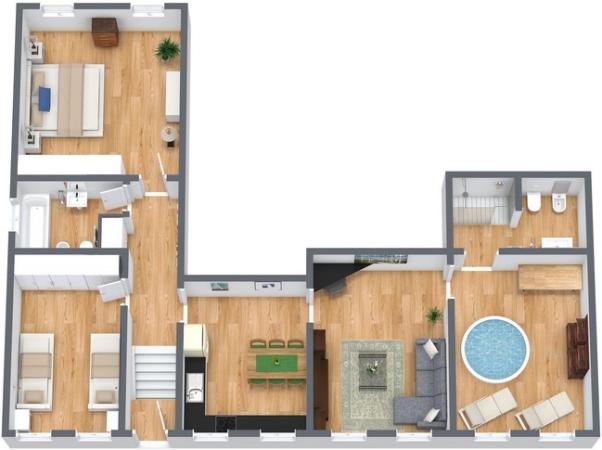 Planimetrics Apartment N.141