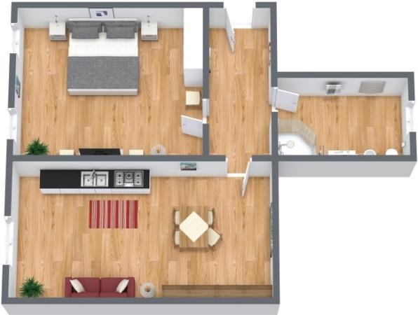 Planimetrics Apartment N.147
