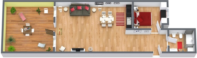Planimetrics Apartment N.152