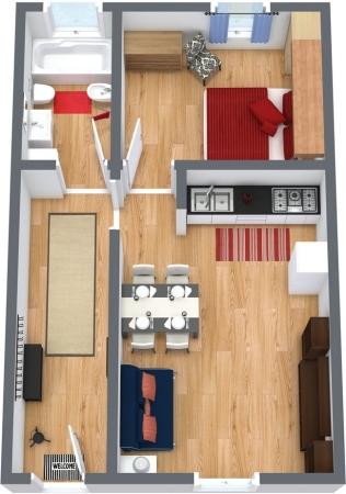 Planimetrics Apartment N.154