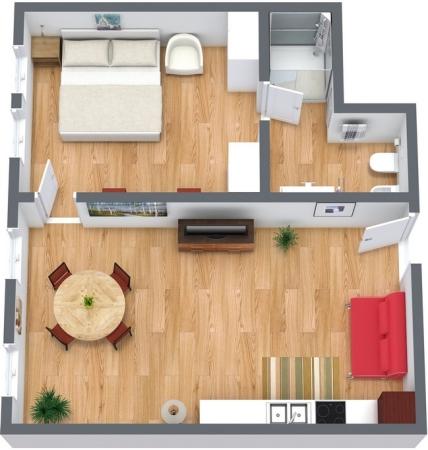 Planimetrics Apartment N.156