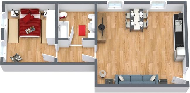 Planimetrics Apartment N.162