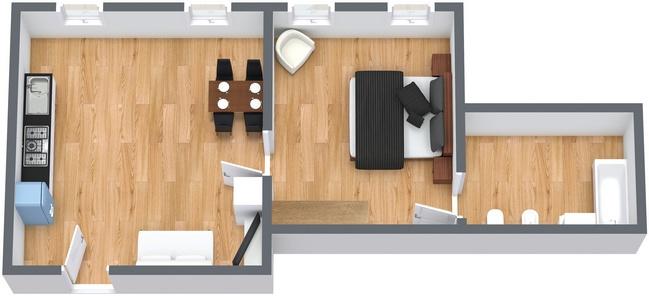 Planimetrics Apartment N.163