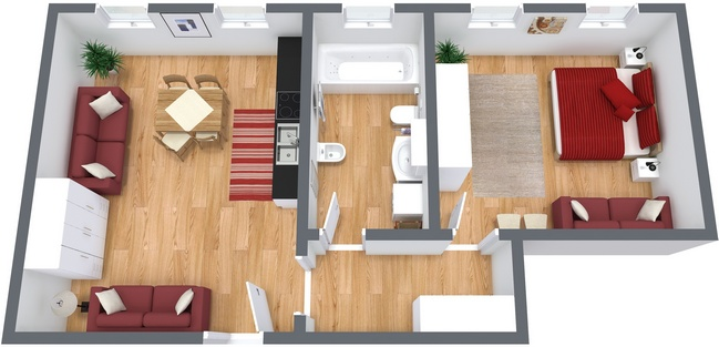Planimetrics Apartment N.78