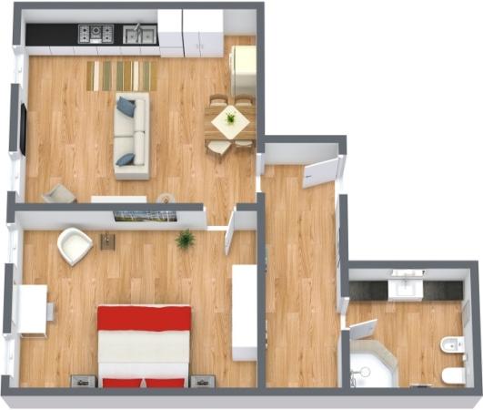 Planimetrics Apartment N.171