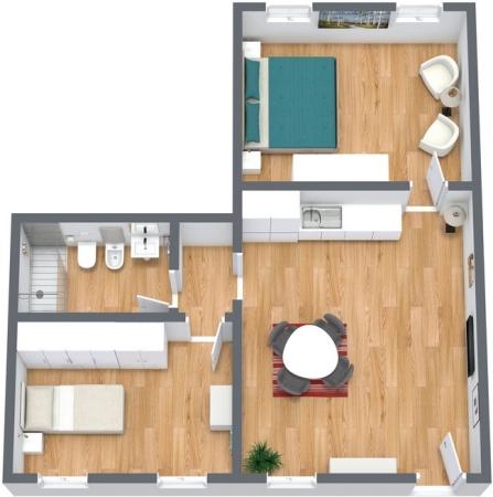 Planimetrics Apartment N.180
