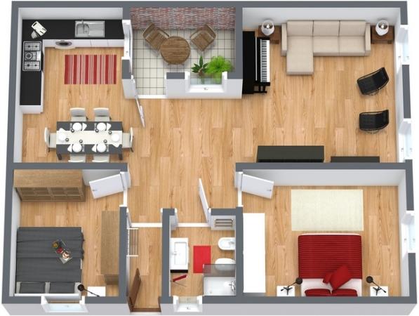Planimetrics Apartment N.181