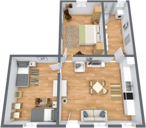 Planimetrics Apartment N.189