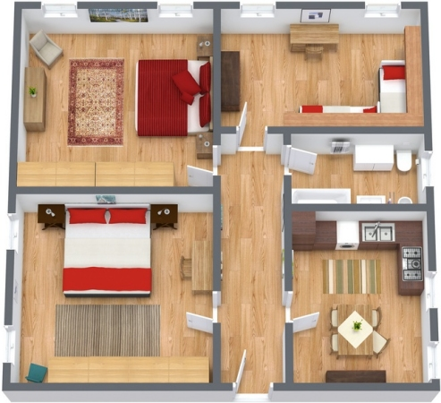 Planimetrics Apartment N.190