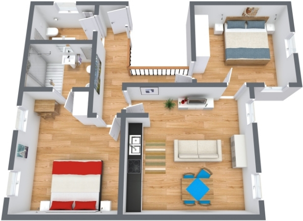 Planimetrics Apartment N.197