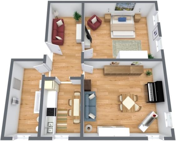 Planimetrics Apartment N.199