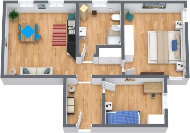 Planimetrics Apartment N.200