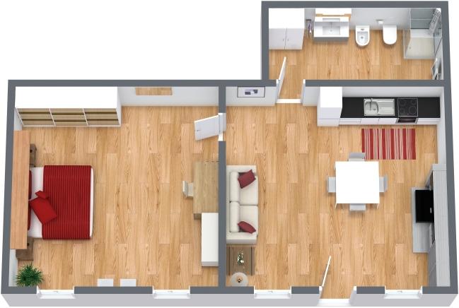 Planimetrics Apartment N.203
