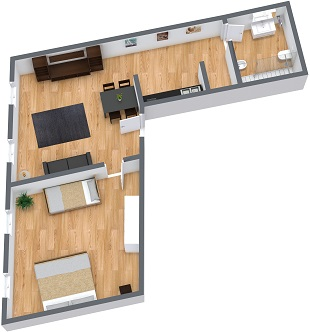 Planimetrics Apartment N.21