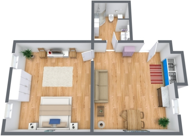 Planimetrics Apartment N.213