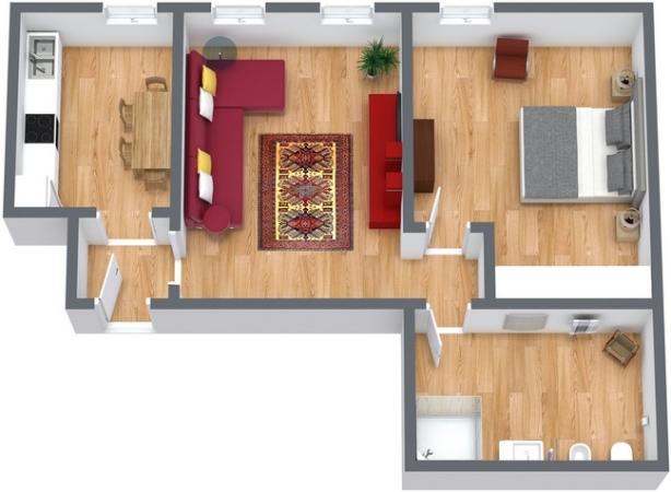 Planimetrics Apartment N.224