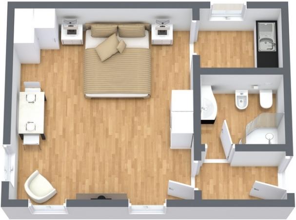 Planimetrics Apartment N.231