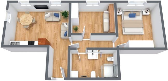 Planimetrics Apartment N.233