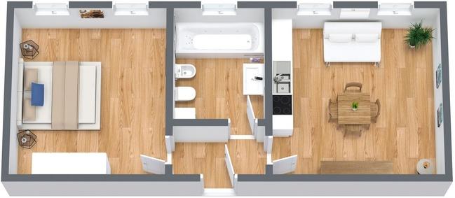 Planimetrics Apartment N.238