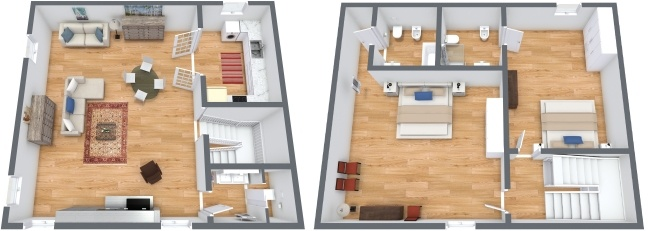 Planimetrics Apartment N.245