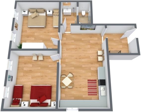 Planimetrics Apartment N.248