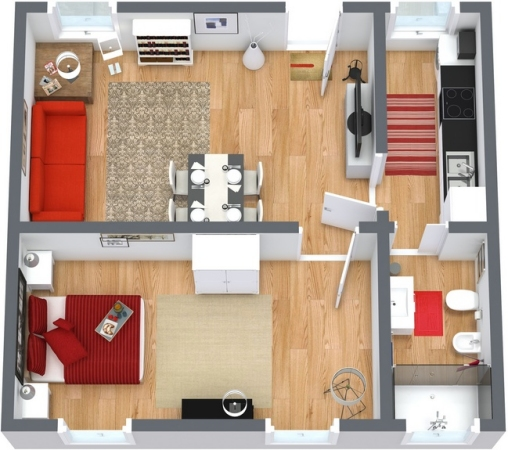 Planimetrics Apartment N.251
