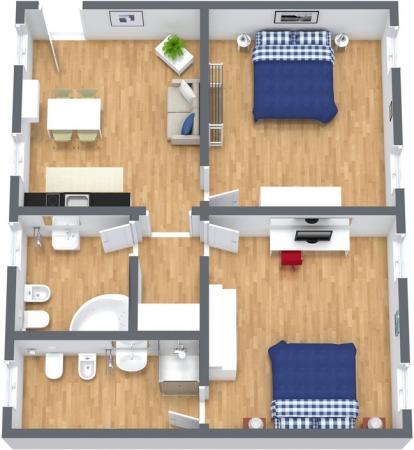 Planimetrics Apartment N.264