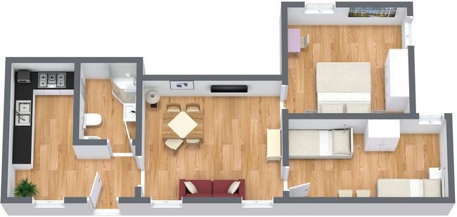 Planimetrics Apartment N.27