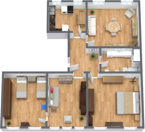 Planimetrics Apartment N.270