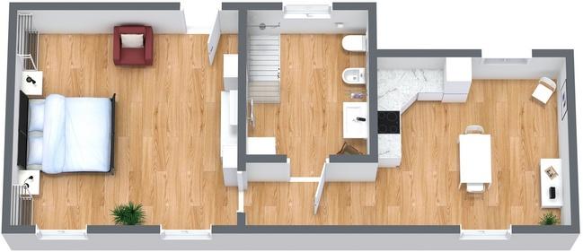 Planimetrics Apartment N.273