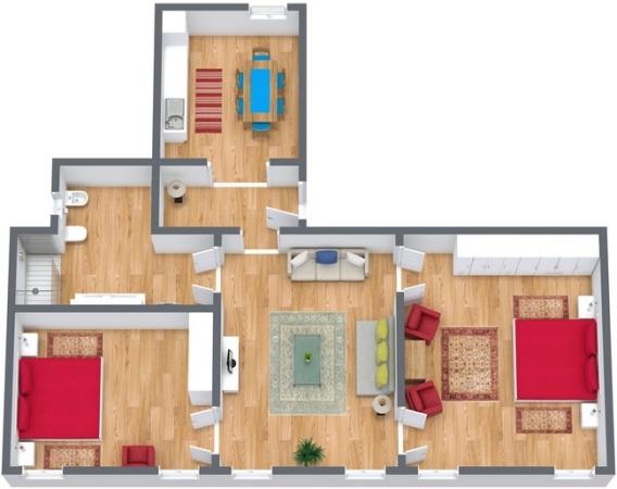 Planimetrics Apartment N.275