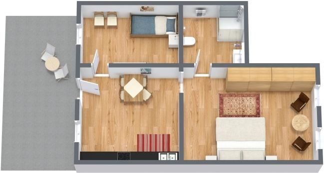 Planimetrics Apartment N.276