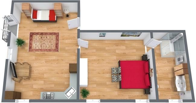 Planimetrics Apartment N.277