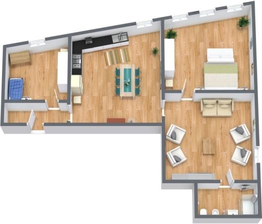 Planimetrics Apartment N.278