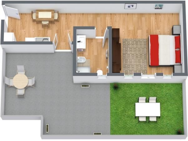 Planimetrics Apartment N.28