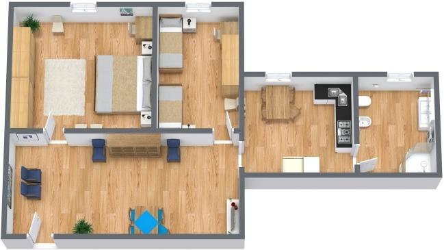 Planimetrics Apartment N.283