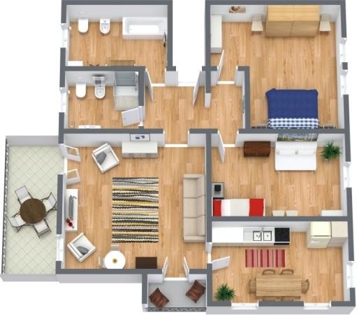 Planimetrics Apartment N.288