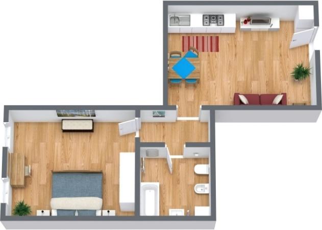 Planimetrics Apartment N.290