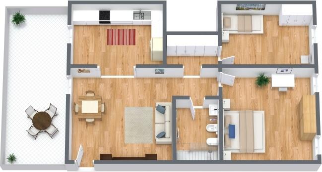 Planimetrics Apartment N.291